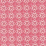 Moda North Woods by Kate Spain - 4809 - Heartsy, Stylised Hearts in Red and Cranberry  - 27245 11 - Cotton Fabric